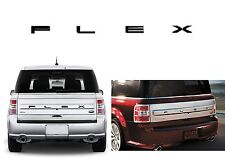 Piano Black Rear Letters Inserts For 2013-2016 Ford Flex New Free Shipping USA
