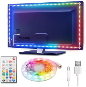 LED Strip Lights 13ft, Waterproof TV Backlight RGBW 65536 DIY Colors Changing 5V