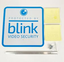 Blink Home Security Official Sign and 2 Window/Door Stickers