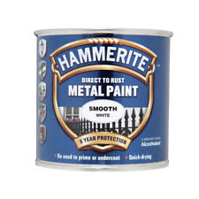 Hammerite Metal Paint Direct To Rust Smooth Paint 750ml - White