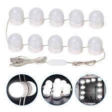 10 Bulbs Led String Kit Vanity Mirror Makeup Bulb Hollywood Style Cosmetic Light