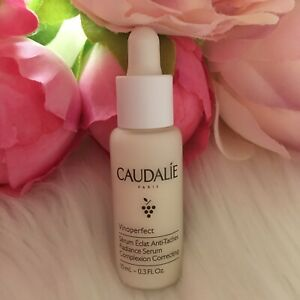 New Caudalie Vinoperfect Radiance Serum + pipet 10ml Complexion Correcting