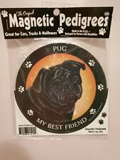 Pet Gifts USA Magnetic Pedigrees Dog Magnet - Pug My Best Friend