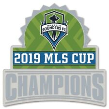 Official 2019 MLS Cup Champions Seattle Sounders FC Collectible Pin