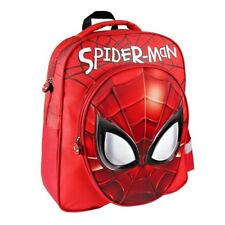 * Nuevo * Spiderman Mochila Escolar 3D Original