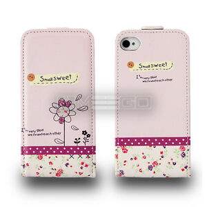 Sweet Graphic Prints Flip leather case for smart phone Samsung Sony Apple UKFREE