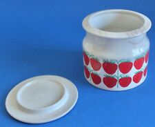Vintage Arabia Finland Strawberry Jam Jar & Lid 5-66