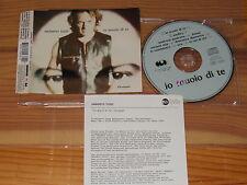 UMBERTO TOZZI - IO MUOIO DI TE / GERMANY 2 TRACK MAXI-CD 1994 & PROMO-INFO