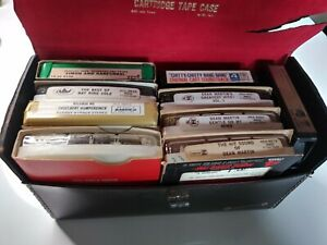 8-track case with 9 tapes