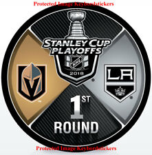 Vegas Golden Knights vs LA Kings 2018 Stanley Cup Playoffs 1st Round Hockey Puck
