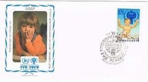 Envelop Jaar van het Kind 1979 - CCCP (106)