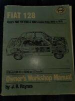 1969 to 1974 Fiat 128  Owner's Workshop Manual Haynes