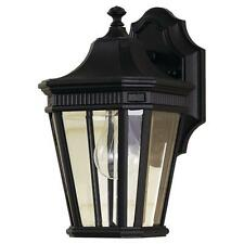 Murray Feiss OL5400BK, Cotswold Lane Outdoor Wall Lantern, 100 Watts, Black