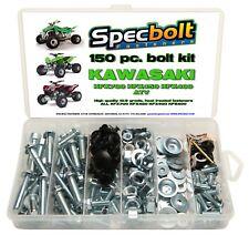 150pc KAWASAKI ATV Bolt Kit KFX450 KFX 450 400 700 body plastic frame fender eng