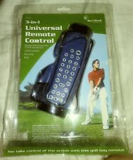 Golf Bag-Style 3-in-1 Universal Remote Control for TV, VCR CABLE BOX