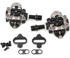 2pcs SHIMANO PD-M540 SPD Road Bike MTB Clipless Pedals + SM-SH51 Cleats Black