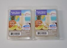 Better Homes and Gardens x2 Tropical Pina Colada Wax Cubes New 2.5 oz