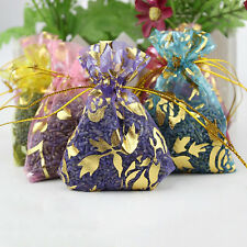 3x Lavender Sachet Bags Organza Home Grown Divinely Scented Random Sent