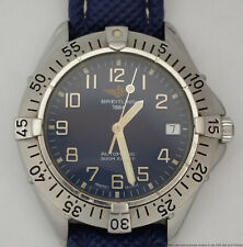 Midsize A17035 Mens Automatic Breitling Chronometer for Lady Steel Date Watch