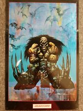"Graveyard Metal Art By Simon Bisley 1993 10.5"" x 16"""