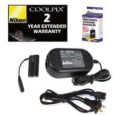 AC Adapter + Garantie für Nikon L3 L4 L5 L6 L10 L11 L12 L14 L15 L16 L18 L19 L20