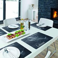 Tischset / Platzset / Platzdeckchen / Kunststoff abwaschbar / versch. Designs