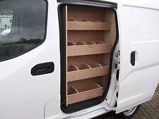 NISSAN NV200 SIDE DOOR Storage Accessories PLYWOOD VAN RACKING