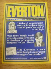 11/09/1973 Everton v Stoke City  (No Apparent Faults)