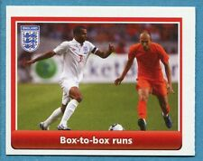 [GCG] ENGLAND 2010 - Figurina-Sticker - BOX-TO-BOX RUNS -New