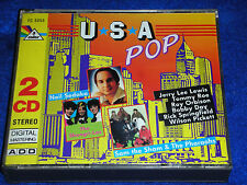 2 CD double USA POP 1989 sandy nelson TOMMY ROE roy orbison 32 titres 5 COLOR