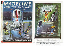Ludwig Bemelmans ''Madeline and the Bad Hat'' 1st Edition