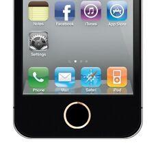 Golden Ring Home Button Key tasto alluminio anello gold oro nero per iphone 4S