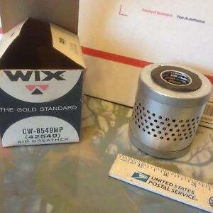 Dodge; REO; White;  Fuller, air breather filter, Wix CW8549. NOS.    Item:  9402