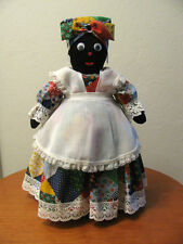 Black Americana Handmade Mammy Folk Cloth Sock Bottle Doll