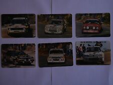 9 POCKET CALENDARS - RALLYE DE PORTUGAL 1985
