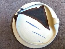 """1960s POTTERY WALL PLAQUE,"""" MIKA,"""""""