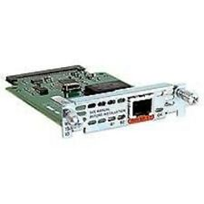 Used Cisco WIC-1B-U-V2 1 Port ISDN WAN Interface Cards