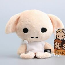 """New Harry Potter Beans Dobby Beanie Plush Toy Soft Stuffed Doll 3"""" Cuddly Gift"""