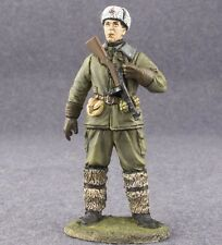 Soviet Commander of the Airborne Assault Group 1/32 Painted Toy Soldiers 54mm