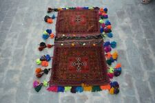 1'10 x 3'10 Feet Antique Medallion Rug, Armenian Rug , Baluchi Saddle Bag Rug.