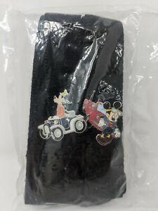 Disney Trading Pin Starter Set w/ Lanyard & Membership Card - Mickey Goofy Cars