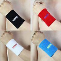 Sports Basketball Tennis Yoga GYM Unisex Sweat Wrist Band Sweatband Wristband