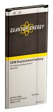 Quantum Energy Replacement Battery for Samsung Galaxy Note 4 N910, with Nfc