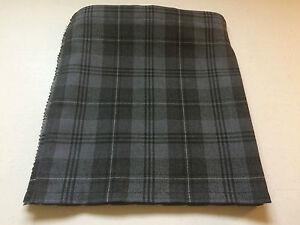 Grey Granite Tartan Baby Kilt 0-3m-2-3 y Waist & Length Measurements Given