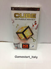 CUBE 3D PUZZLE MAYHEM (SONY PSP) NUOVO SIGILLATO NEW SEALED