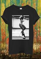 Skateboard Sexy Girl Funny Hipster Cool Funny Men Women Top Unisex T Shirt 902
