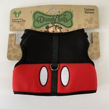 Disney Parks Tails Mickey Mouse Costume Harness for Dog Small 20 lbs