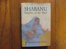 "SUZANNE  FISHER  STAPLES  Signed Book(""SHABANU""- 1989  Edition  Hardback)"
