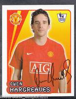 Merlin Football- 2008 Premier League Sticker No 387 - Owen Hargreaves - Man Utd