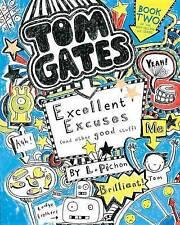 Tom Gates: Excelente excusas (y otras cosas buenas) por Liz Pichon (de Bolsillo/S
